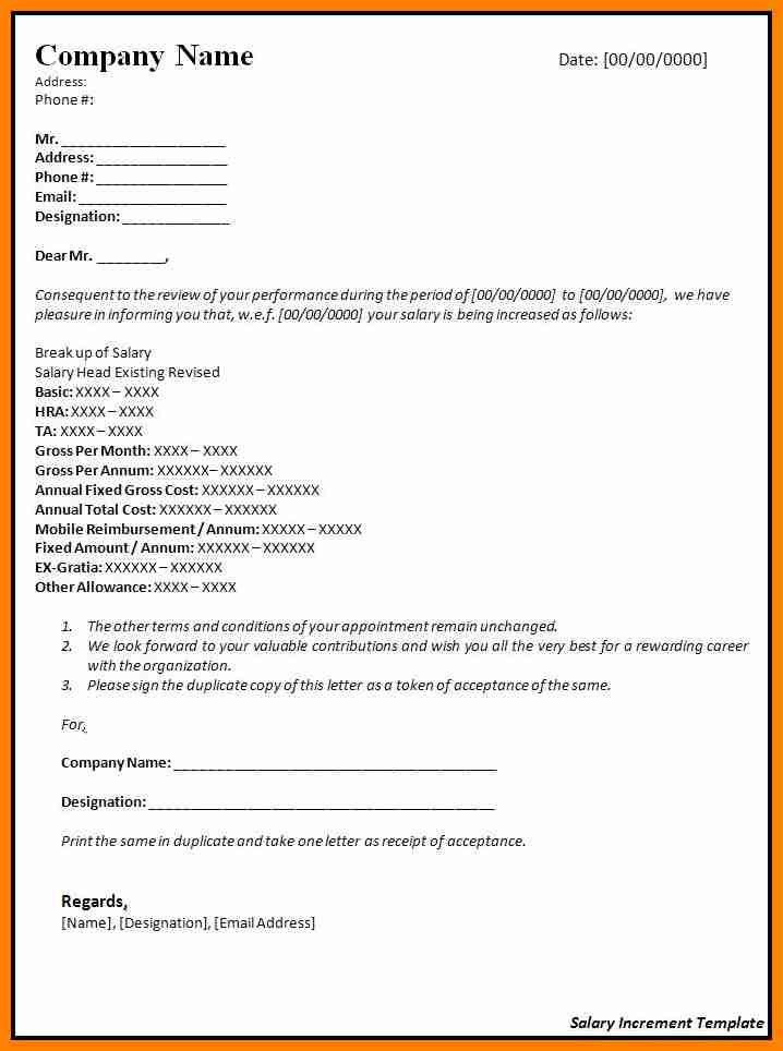 10+ salary increment letter to employee | forklift resume