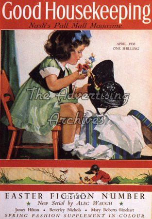 The Advertising Archives | Magazine Cover | Good Housekeeping | 1930s