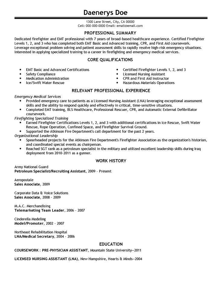 9 best Best Medical Assistant Resume Templates & Samples images on ...