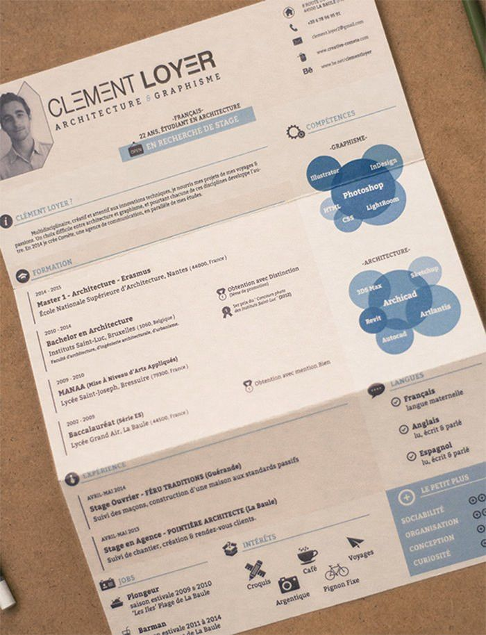 Free Creative Resume Templates Download. Free Infographic Resume ...