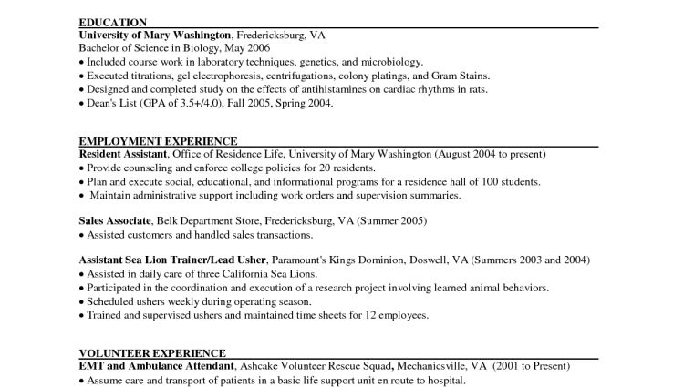 retail sales associate resume sales associate resume Andrea ...