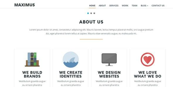 20 Best Responsive HTML5 Onepage Website Templates