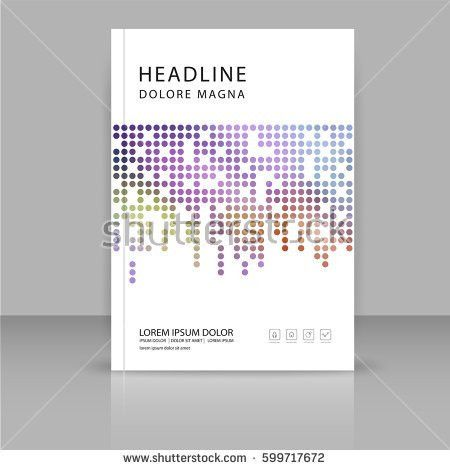 Modern Vector Abstract Brochure Report Flyer Stock Vector ...