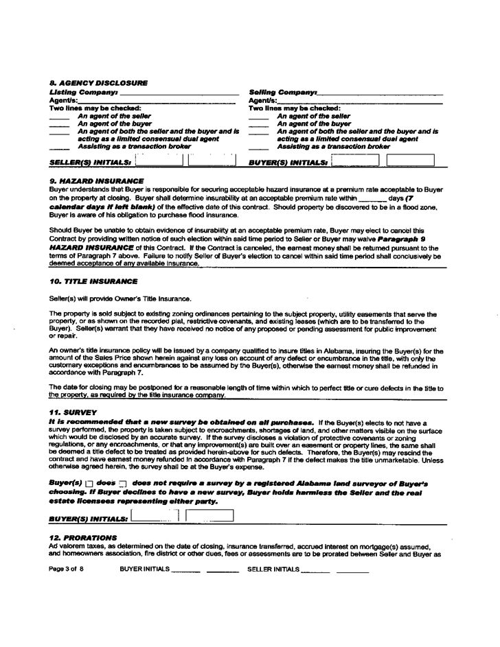 Real Estate Sales Contract 7 Real Estate Contract Templates Free - free home sale contract