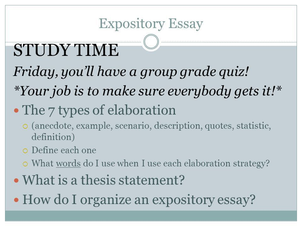 Expository Writing Writing Unit ppt video online download