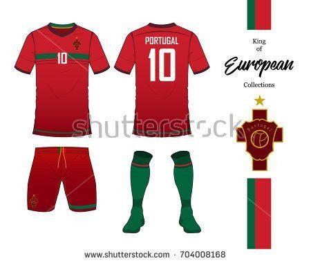 Set Soccer Jersey Football Kit Template Stock Vector 558731641 ...