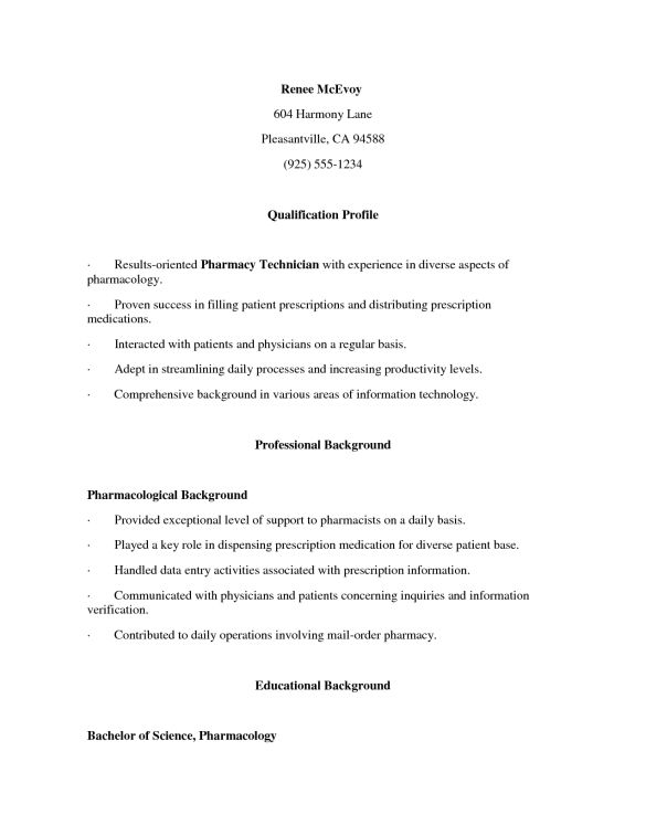 Creative Results Oriented Cover Letter For Cvs Pharmacy and ...