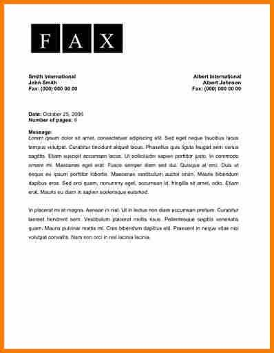 10+ examples of fax cover sheets | resume reference