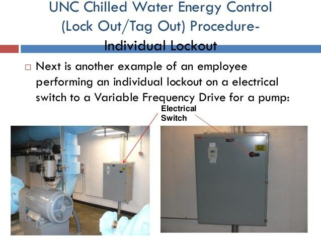 UNC-CH Energy Services Chilled Water Department Control of Hazardous …