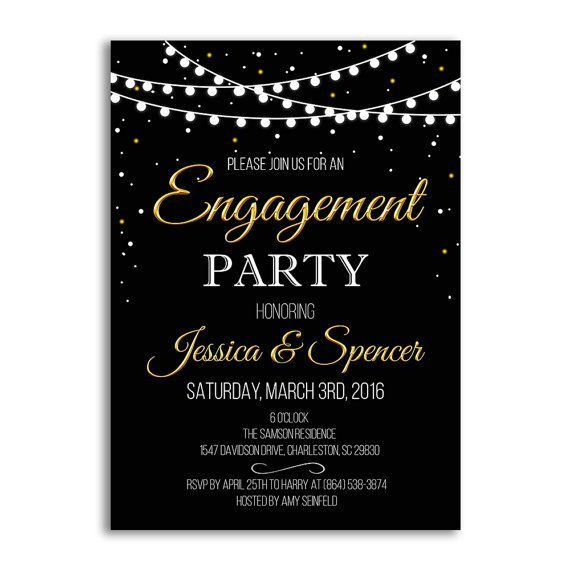 Engagement Party Invitation Templates – frenchkitten.net