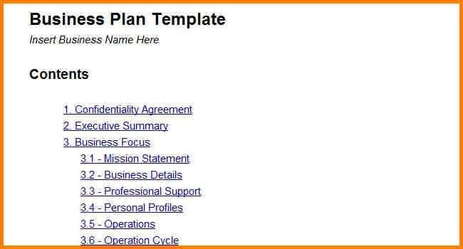 Amazing Simple Business Plan Template Contemporary - Best Resume ...