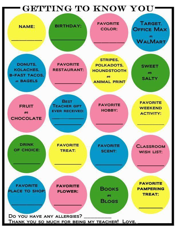 Best 25+ Teacher survey ideas on Pinterest   Teacher favorites ...