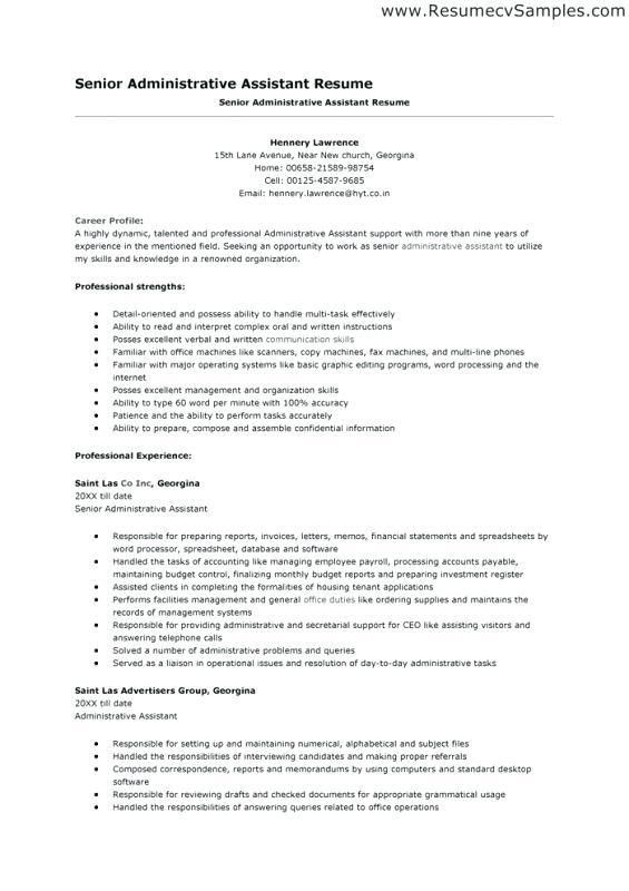 Objective Of A Resume – Okurgezer.co