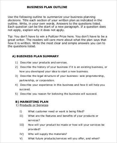 Business Proposal Format - 8+ Examples in Word, PDF
