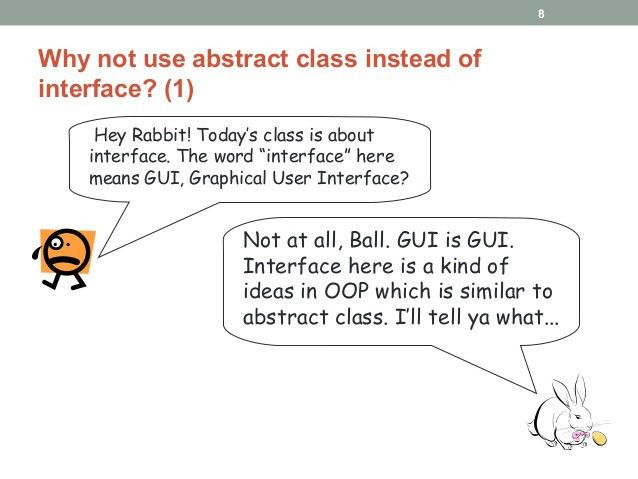 Java Programming - Abstract Class and Interface
