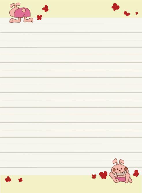 Diary Paper Printable : Selimtd