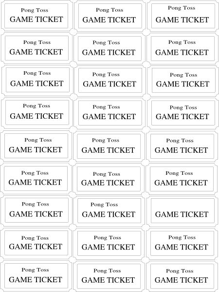 Carnival Ticket Template | Free Download Clip Art | Free Clip Art ..  Food Tickets Template