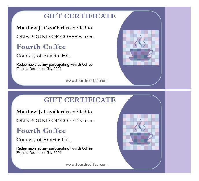 Blank Gift Vouchers Templates Free | Cvletter.csat.co