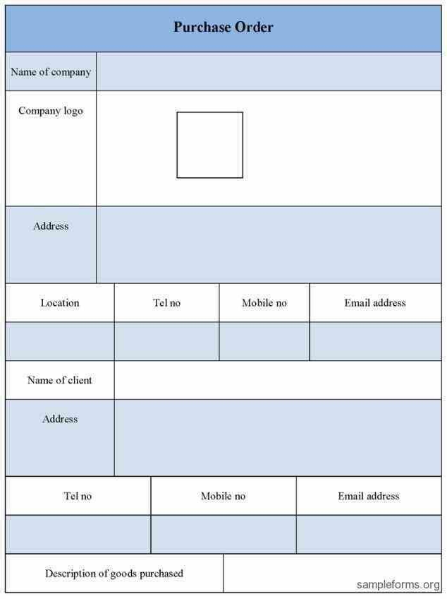 For Order Forms blank forms templates free order form template ...