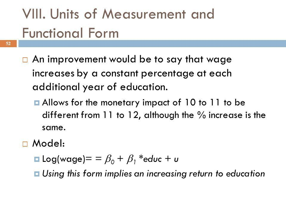 The Simple Regression Model - ppt video online download