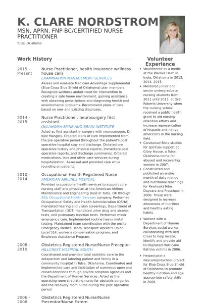 Insurance Resume samples - VisualCV resume samples database