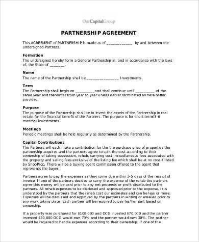 Free Agreement Form Samples - 30+ Free Documents in Word, PDF