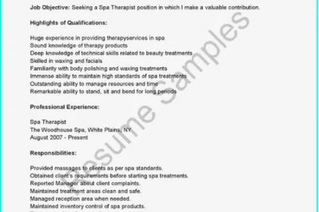 spa manager resume s lewesmr spa manager resumes spa manager www ...