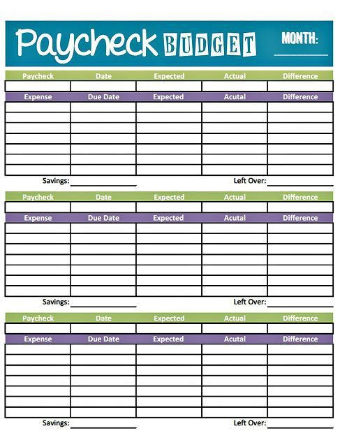 Best 20+ Budget forms ideas on Pinterest | Free budget planner ...