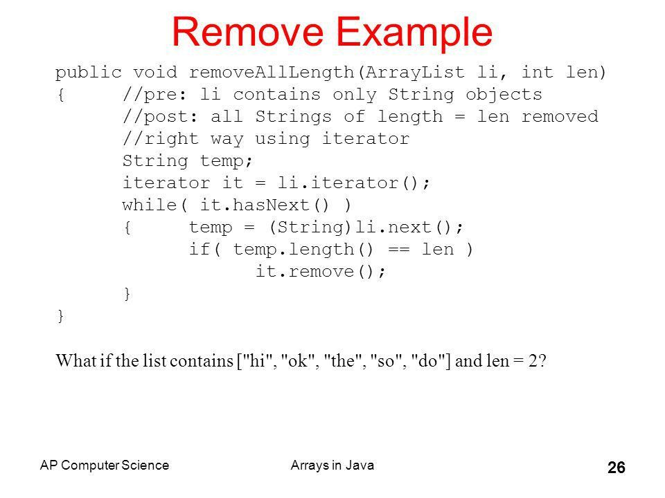 Arrays And ArrayLists - S. Kelly-Bootle - ppt video online download