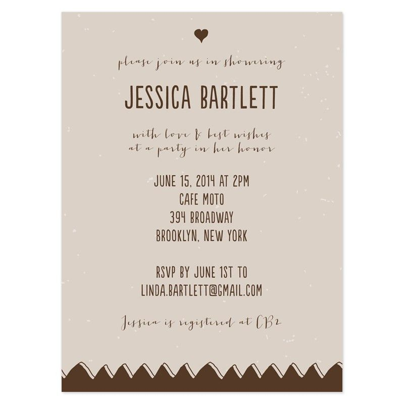 Bridal Shower Invitation Examples - vertabox.Com