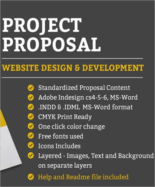 Project Proposal Templates || Free&Premium Templates | Creative ...