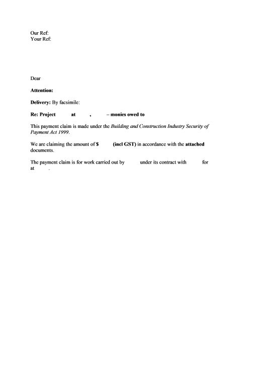 Application Letter Template for Software Tester with Simple Sample ...