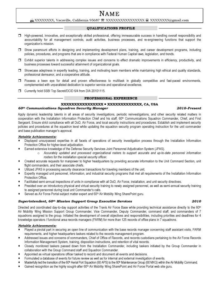Resume Examples For Military. Firefighter Resume Sample How To ...