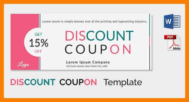 7+ coupons template word | hostess resume