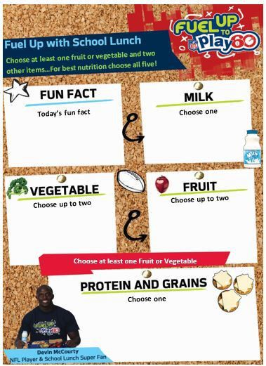 School Meal Promotions | New England Dairy & Food Council