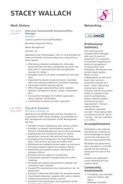 Human Resource Manager Resume Samples Visualcv With 23 Captivating ...