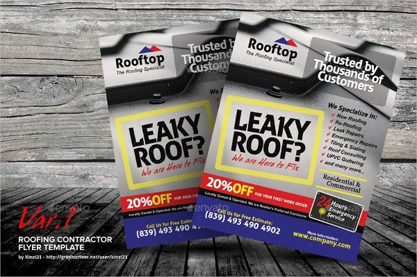 10+ Roofing Flyers - Free PSD, EPS, AI Format Download | Free ...