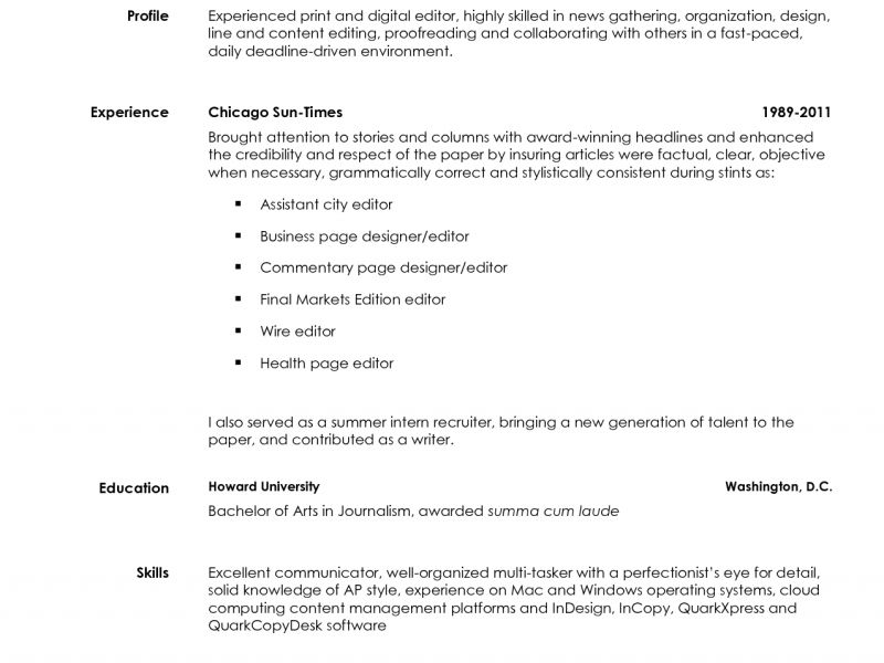 100+ [ Photo Editor Resume ] | Copy Resume Format,Freelance Editor ...