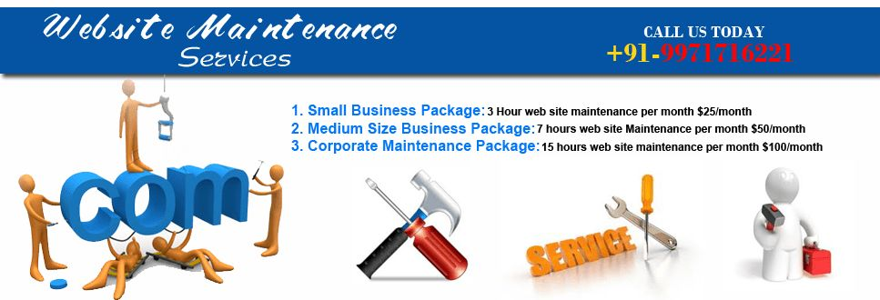 Web Site Maintenance |website Maintenance Services India |Website ...