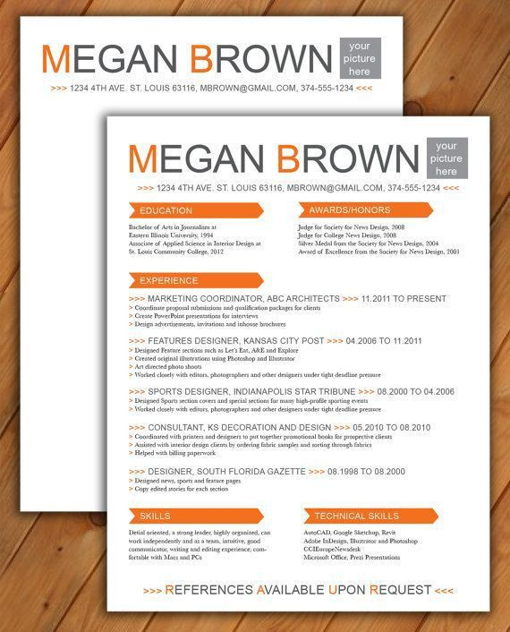 50 best Resume Templates images on Pinterest | Resume templates ...