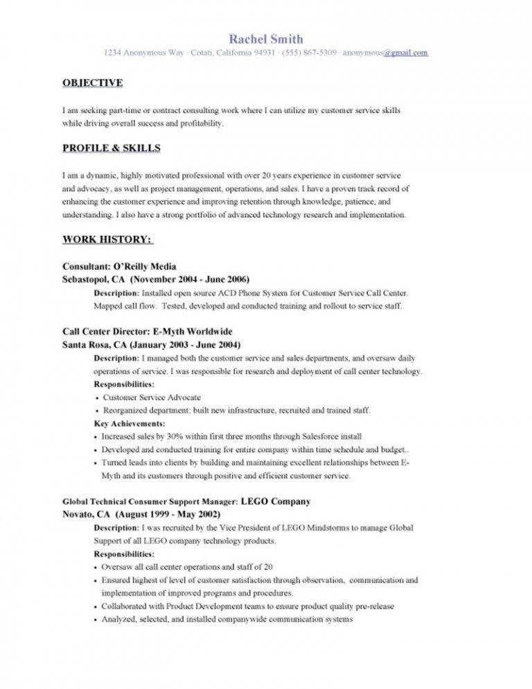 Resume Objective Examples | | ingyenoltoztetosjatekok.com