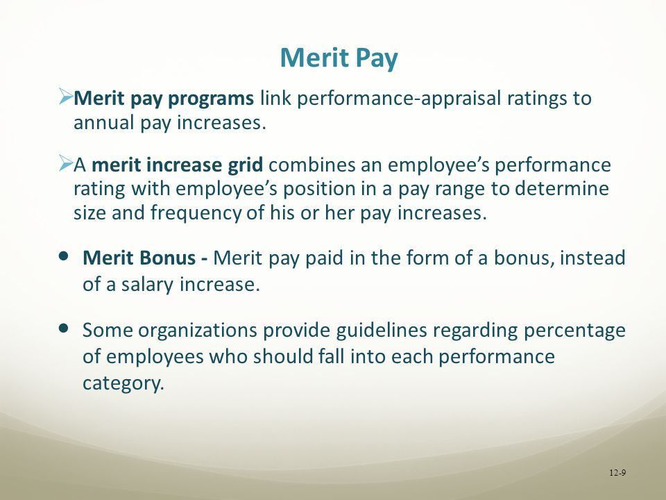 Recognizing Employee Contributions with Pay - ppt download