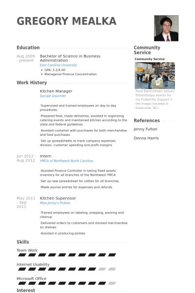 Kitchen Manager Resume 2 ShiftKitchen Manager Resume Samples ...