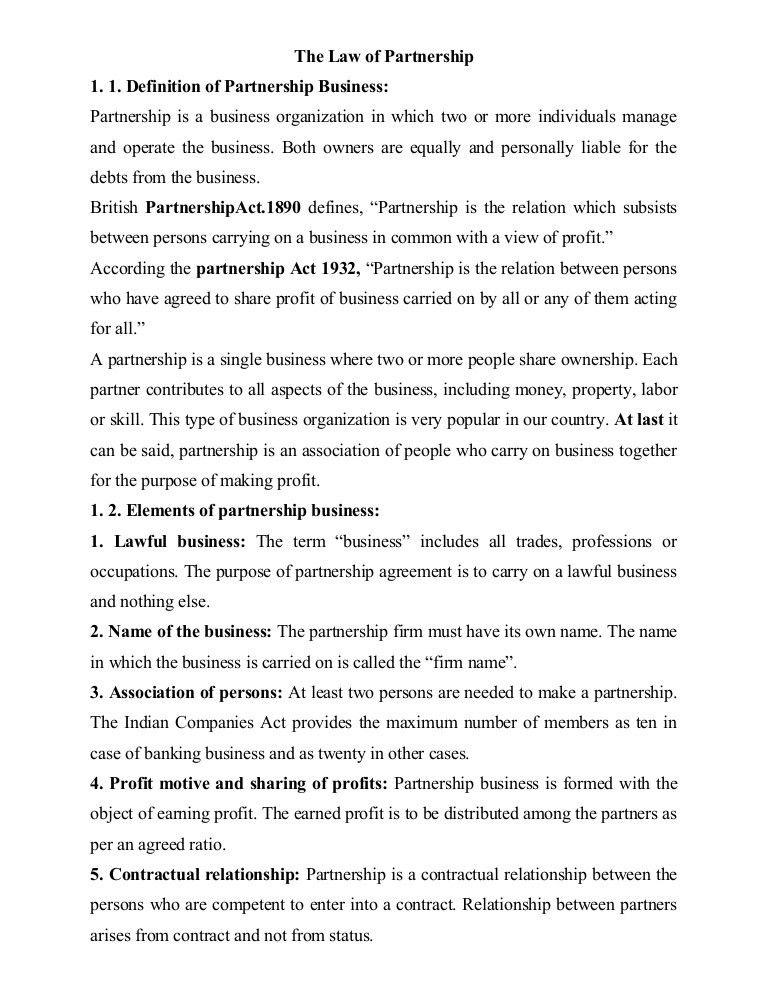 Law partnership, partner (7)