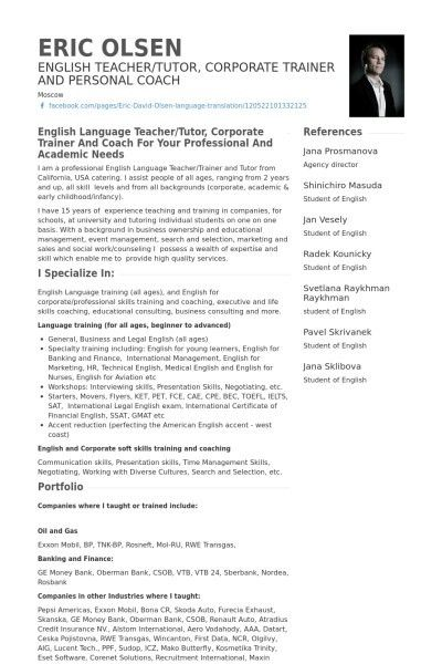 Teacher English Resume Format Cv English Resume Format Word ...