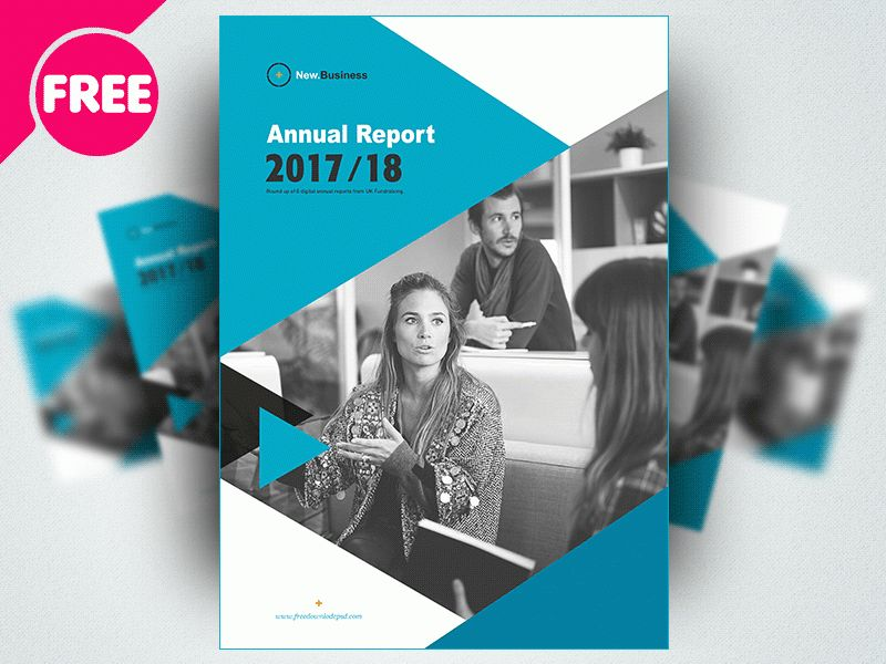 Free Brochure Annual Report Template Psd by Free Download PSD ...