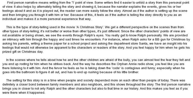 Buy personal narrative essay