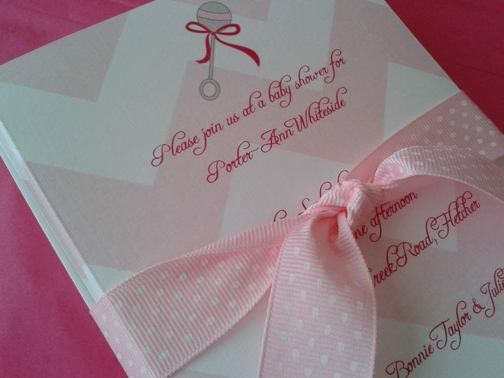 Diy Baby Shower Invitations | badbrya.com