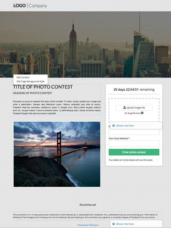 7 Free Templates for your Next Contest or Giveaway