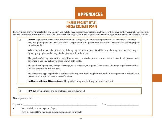 Video Release Forms. Model Release Form - Minor Under 18 Simple ...